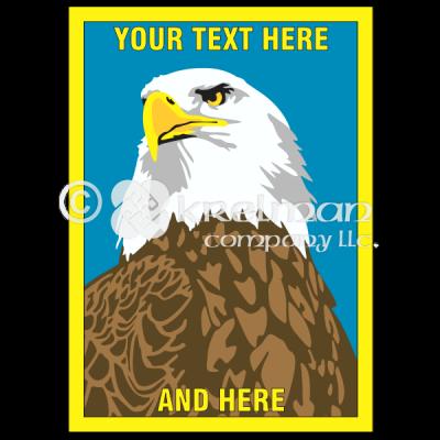A103 Serious Bald Eagle