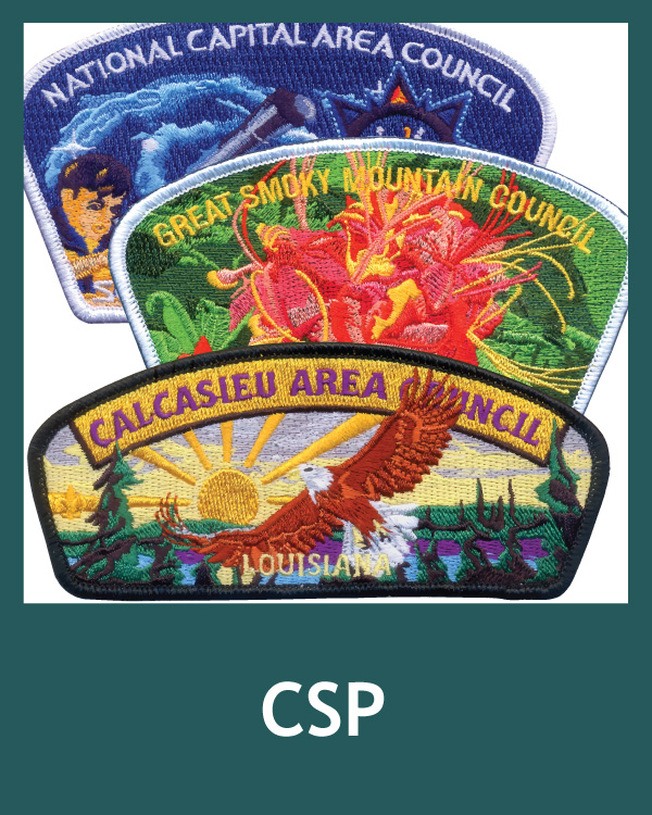 Council Shoulder Patches