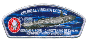 K122181-CSP-Colonial-Virginia-Council-Gerald R. Ford-CVN78-Newport-News-Shipbuilding