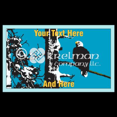 K115-Bald-Eagle-On-Tree