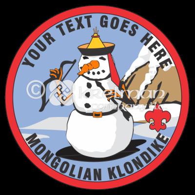 K533 Mongolian Snowman