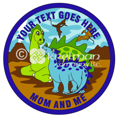 k1302-Dinosaur-Dragons-Happy