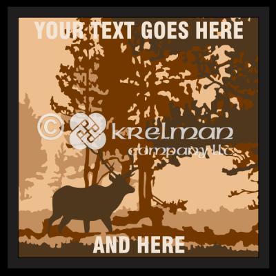 k2213-Elk-At-Dusk-Forest