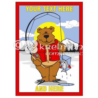k2407-Bear-Ice-Fishing-Frozen-Fish
