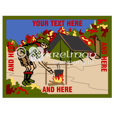 k606-Tending-Fire-With-Tent