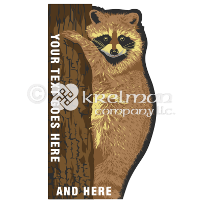 k611-Raccoon-On-A-Tree