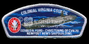 K122181-CSP-Colonial-Virginia-Council-Gerald R. Ford-CVN78-Newport-News-Shipbuilding
