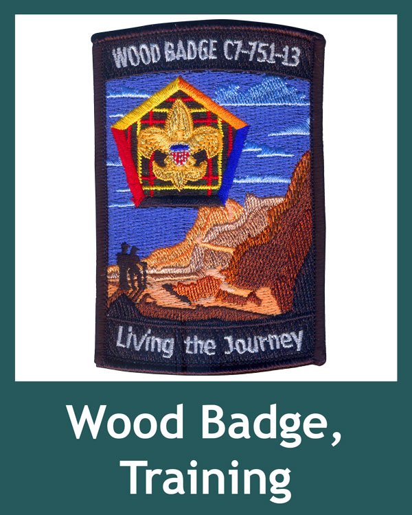 Woodbadge, Training