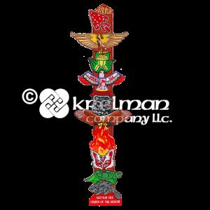 k121641-Specialty-OA-Totem-Pole