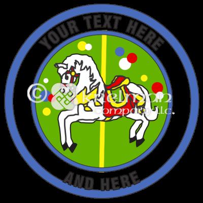 K305-Merry-Go-Round-Horse