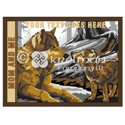 k1305-Wolf-Mother-And-Son