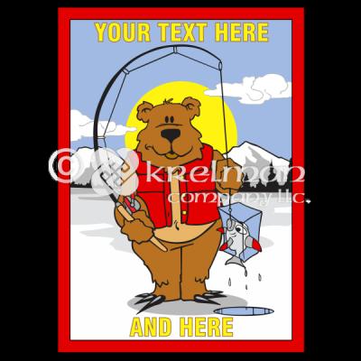 k2407-Bear-Ice-Fishing-Frozen-Fish