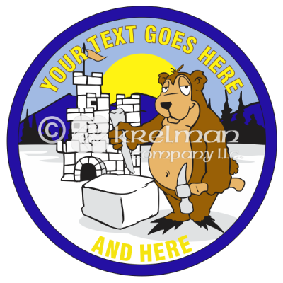 k2411-Bear-Building-Ice-Castle