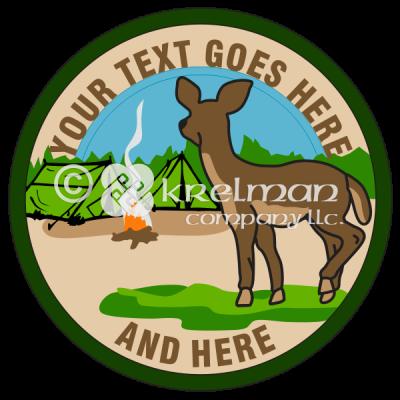 k625-Deer-Near-Camp