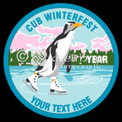 k716-Penguin-Ice-Skating